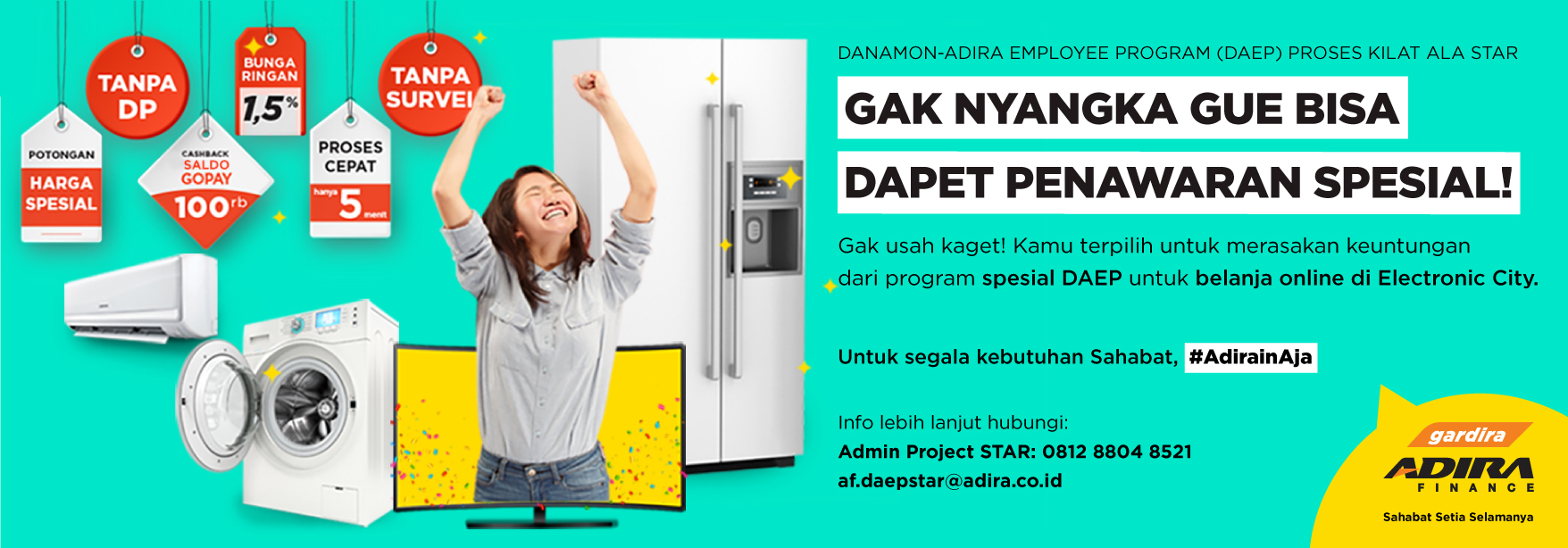 Program Pembiayaan Star Daep Melalui Merchant Electronic City Adira Finance